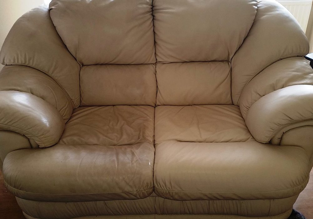 Leather Sofa Cleaning Before U0026 After