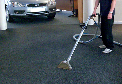 Commercial-Showroom-Carpet-Cleaning